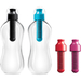 Bobble Standard Water Bottle with Filter and Replacement Filter, Set of 2