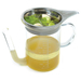 Norpro Glass Gravy Separator with Stainless Steel Strainer, 4 Cup