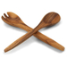Pacific Merchants Acaciaware Wooden Fork and Spoon Serving Set