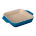 Le Creuset Marseille Blue Stoneware Square Baking Dish, 2.2 Quart