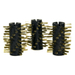 GrillBots Brass Replacement Brush, Set of 3