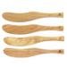 Berard Acero Olive Wood 6 Inch Spreader, Set of 4