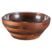Fabio Viviani Heritage Collection Large 2 Piece Carovana Acacia and Glass Nested Salad and Serving Bowl