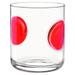 Bormioli Rocco Giove Red DOF 10.5 Ounce Glass