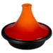 Le Creuset Flame Enameled Cast Iron 2 Quart Moroccan Tagine