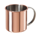 Oggi Moscow Mule Copper Plated Stainless Steel 16 Ounce Mug