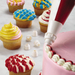 Cake Boss Duo 2 Color Icing Bag and Coupler Set