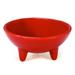 Chantal Red 6 Ounce Molcajete Bowl