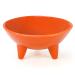 Chantal Orange 12 Ounce Molcajete Bowl