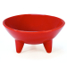 Chantal True Red 12 Ounce Molcajete Bowl