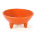 Chantal Orange 6 Ounce Molcajete Bowl