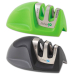 Kitchen IQ Edge Grip 2-Stage Green and Black Knife Sharpener, Set of 2