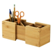 Lipper Bamboo Expandable Pencil Holder