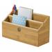 Lipper Bamboo 2-Slot Mail Organizer