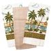 Cuisinart Palm Paradise Flour Sack Towels, 3 Piece Set