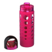 Artland 365 Hydration 20 Ounce Water Bottle with Berry Silicone Sleeve and Screw Cap
