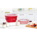 Cuisipro Collapsible Red Electric Yogurt Maker