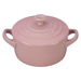 Le Creuset Hibiscus Stoneware 8 Ounce Round Mini Cocotte