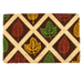 Entryways Leaf Rubbing Hand-Woven Coir Welcome Mat
