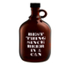 """Artland Barkeep 64 Ounce """"Best Thing Since Beer in a Can"""" Beer Growler"""
