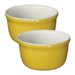 Emile Henry Leaves Ceramic 7 Ounce Ramekin, Set of 2