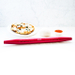KMN Home Red Aluminum Rolling Pin