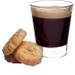 DeLonghi Nespresso Vertuo Red Coffee and Espresso Machine with Free Set of 6 Espresso Glasses