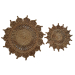 Toockies Natural Jute 2 Piece Flower Trivet Set