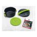 Kuhn Rikon Duromatic Gray Green Micro 4 Quart Microwave Pressure Cooker