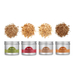 Breville The Smoking Gun Pro Hickory, Mesquite, Applewood, and Cherrywood 4 Piece Woodchip Set