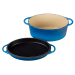 Le Creuset Marseille 7.25 Quart Oval Dutch Oven with Reversible Grill Pan Lid