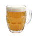 Libbey Glass 19.25 Ounce Dimpled Beer Stein Mug
