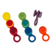 Le Creuset Assorted Silicone Glass Marker, Set of 8