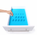 KMN Home DrawerDecor Sky Blue Silicone 16 Piece Customizable Drawer Organizer Starter Kit