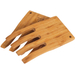 Island Bamboo Hand Salad Server, Set of 2
