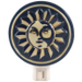Ceramic Celestial Sun Midnight Sky Night Light