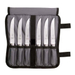 Mercer Genesis Stainless Steel Serrated Forged 7 Piece Steak Knife Set