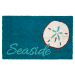 Entryways Seaside Non-Slip Coir 17 x 30 Inch Doormat