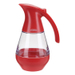 Trudeau Red 19 Ounce Syrup Dispenser