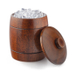Final Touch Wood 1 Quart Barrel Ice Bucket
