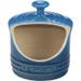 Le Creuset Marseille Blue Stoneware Salt Crock