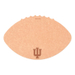 Epicurean Indiana University 16 x 10.5 Inch Football Cutting and Serving Board
