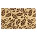 Entryways Acorns Handwoven Coconut Fiber Doormat