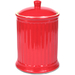 OmniWare Simsbury Red Stoneware Extra Large Canister