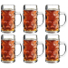 Stolzle Oktoberfest 17.5 Ounce Glass Beer Mug, Set of 6