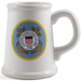 Coast Guard Ceramic Tankard Beer Mug, 22 Ounce
