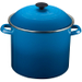 Le Creuset Marseille Blue Enamel on Steel Stockpot, 20 Quart