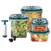 NuWave Flavor-Lockers™ Food Storage System Vacuum Containers
