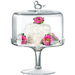 Artland Songbird Pedestal Cake Stand With Dome, 8 Inch