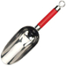 RSVP Endurance Red Stainless Steel Measuring Scoop, 1/2 Cup